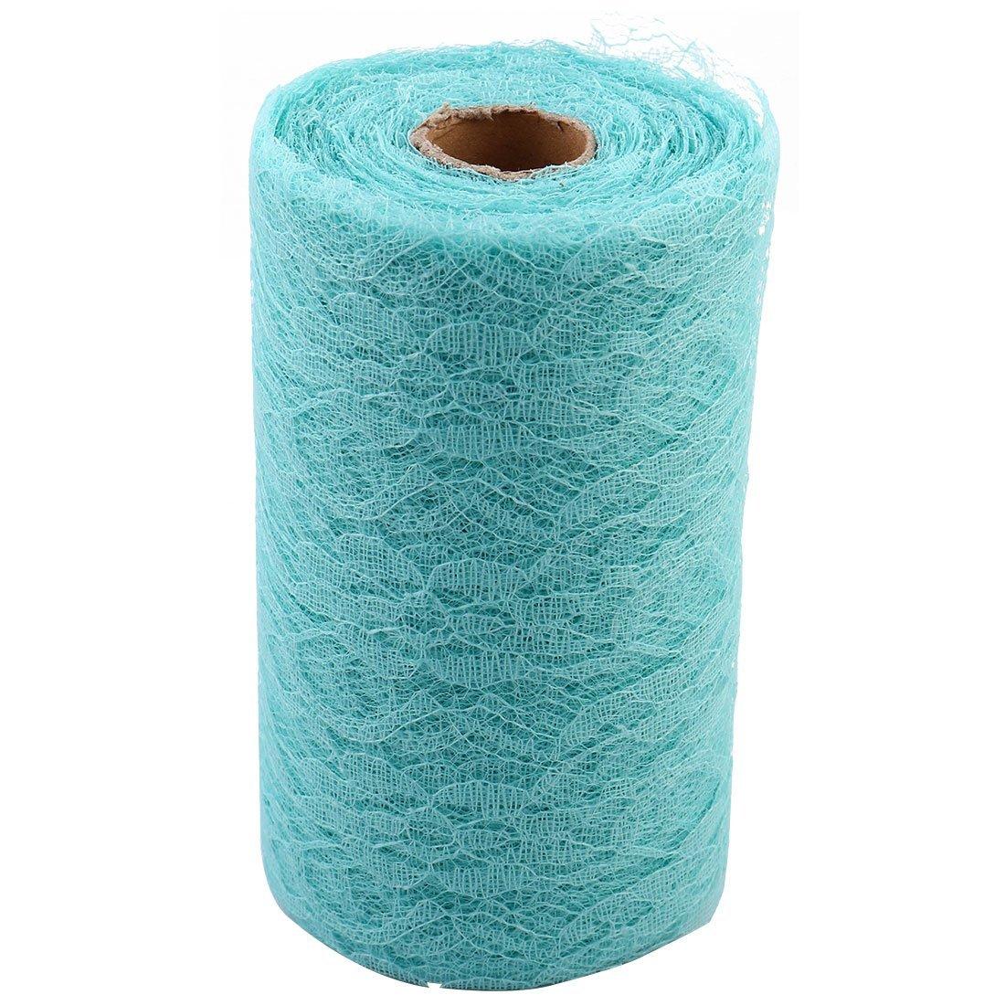 Amazon.com: eDealMax Vestido de Fiesta de la boda del cordón Silla de escritorio de la decoración de la artesanía de bricolaje Para Coser la Cinta Azul de ...