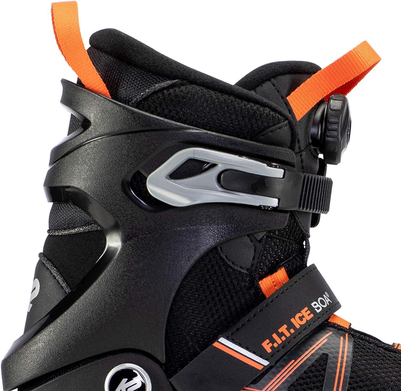 F.I.T ICE Boa Black/_Orange 10.5