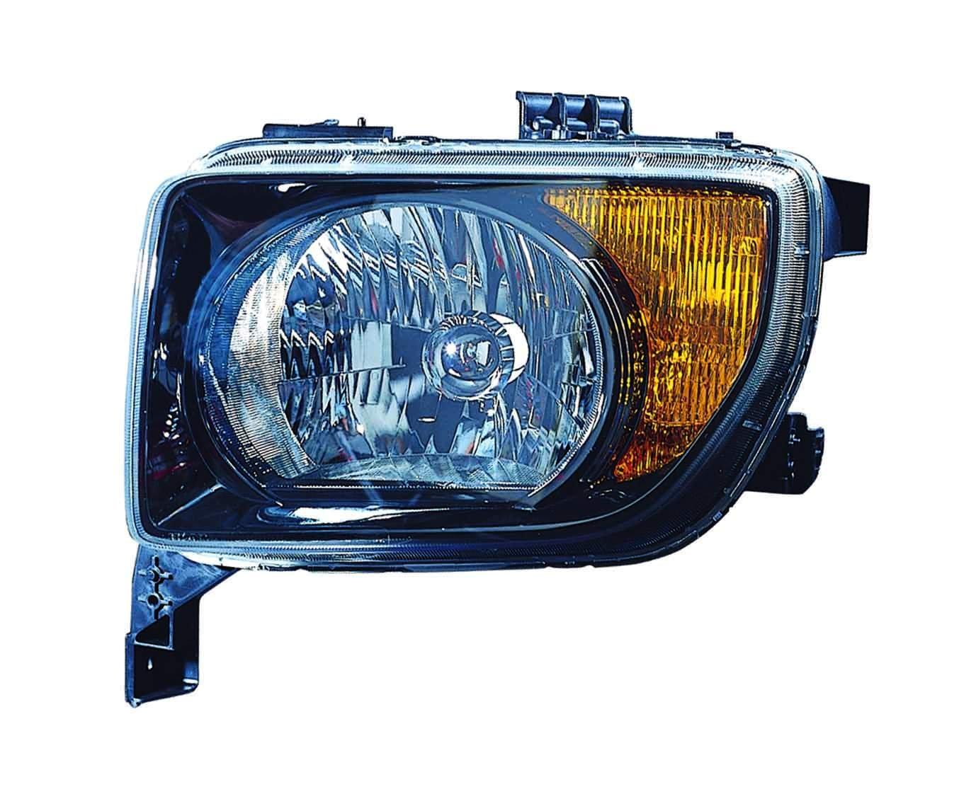 HONDA ELEMENT 07-08 UNIT EX//LX MODEL BLACK BEZEL DRIVER SIDE NSF Depo 317-1133L-UF2 Headlight