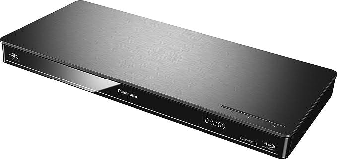Panasonic DMP-BDT381EG - Blue ray (scalado 4k, reproducción 4k jpeg, compatible 3d, Wifi y dlna), plateado: BLOCK: Amazon.es: Electrónica