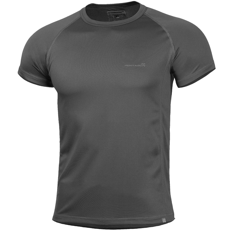 Pentagon Men's Body Shock T-Shirt Cinder Grey