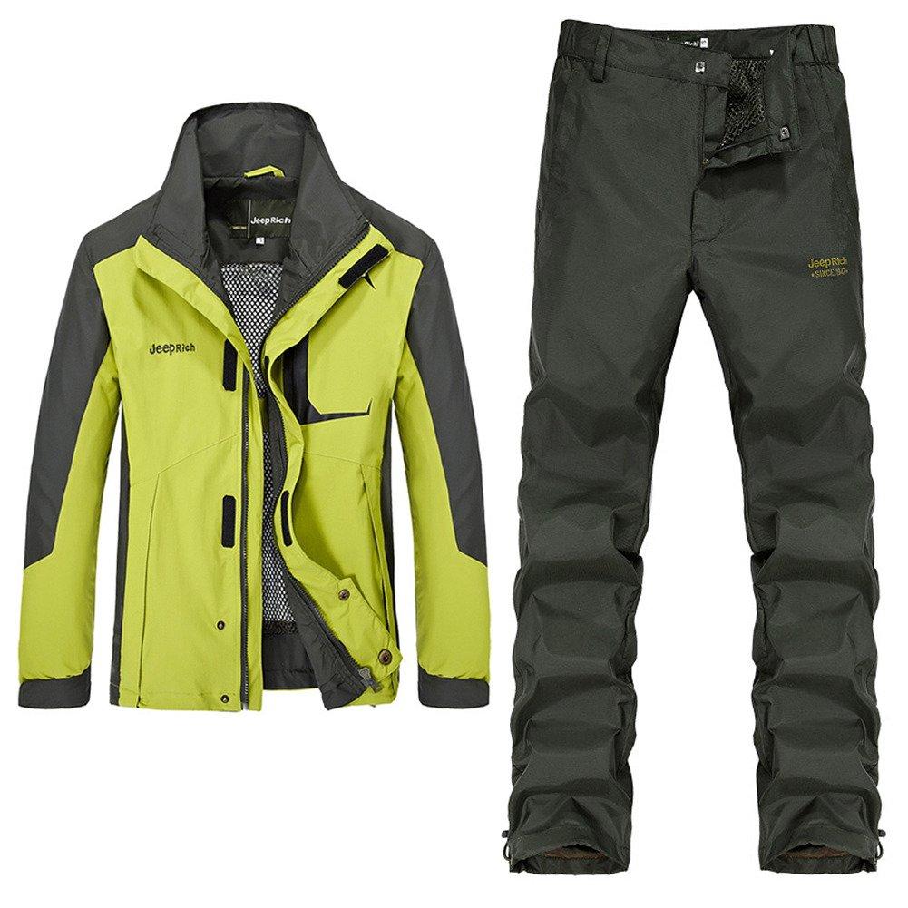 458988906290e Cccken Men's Lightweight Cycling Windbreaker Jackets+Pants Sport ...