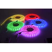 RGB LED Strip Lights16.4FT/5M 300 LED Waterproof Compatible with Alexa and Google Assistant with Remote Control