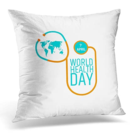 Amazon Emvency Throw Pillow Covers Medical World Health Day Classy Medical Pillow Covers