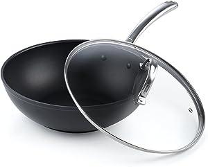 Hard Anodized Nonstick Wok Stir Fry Pan