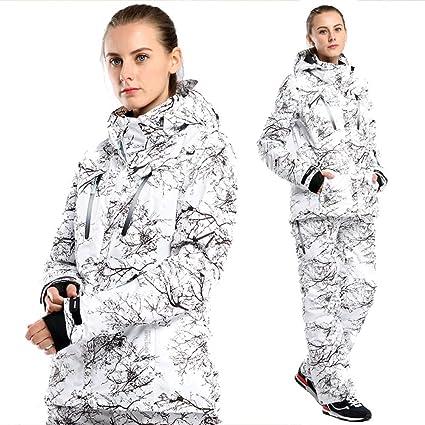 ZXGJHXF Impresión de Invierno para Mujer Traje de esquí ...