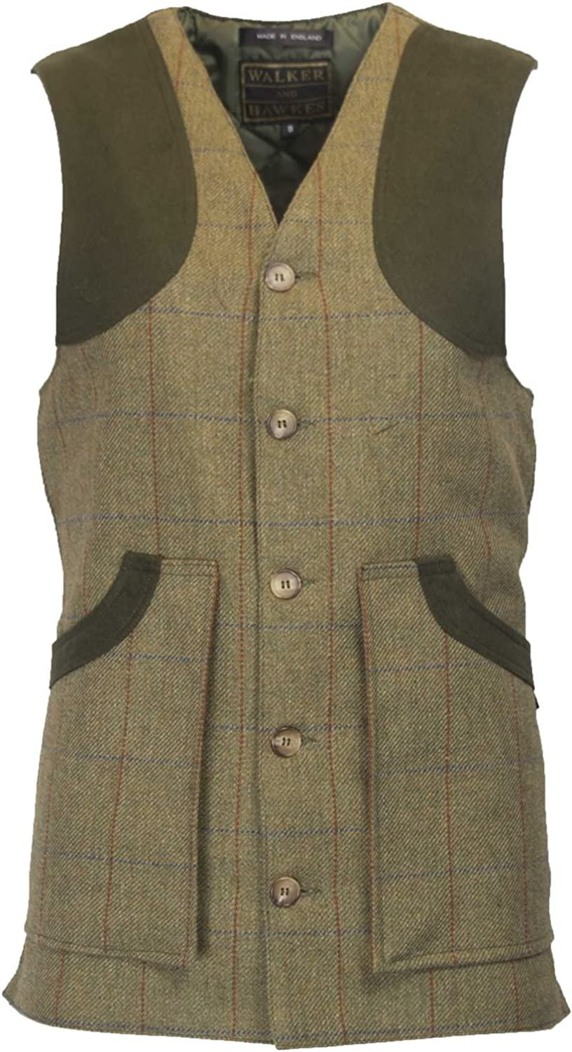 34ins CHILDRENS KEEPER TWEED SHOOTING VEST NEW HUNTING SIZES 20ins