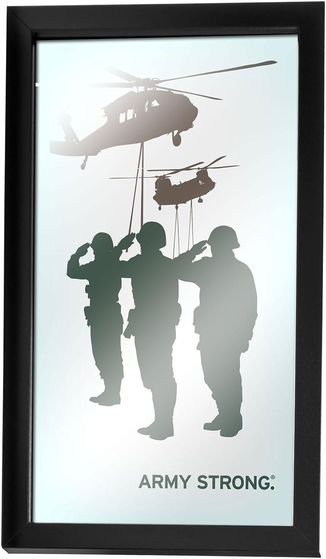 United States Army Silhouette II Framed Logo Mirror