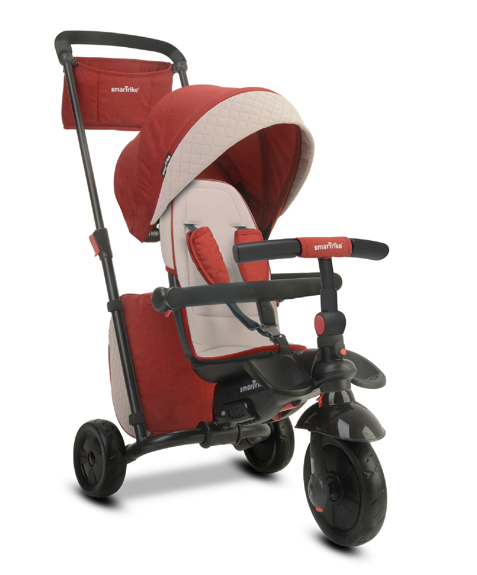 smarTrike Smartfold 600 Baby Tricycle, Red