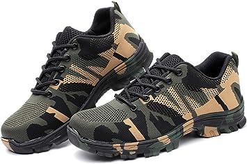 Slip-Resistant Work Safety Shoes Men