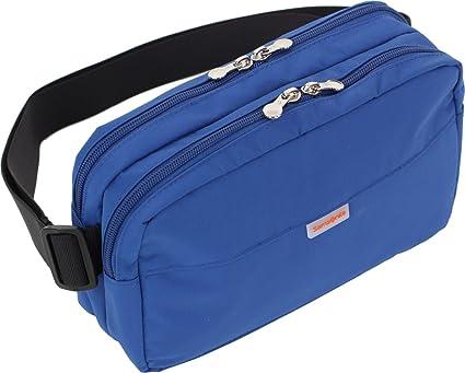 Samsonite 0873855001443 Azul 45539 – 1247 Hombre Riñonera Cinturón bolsillo en el pecho Pecho Bolsa Bolsa