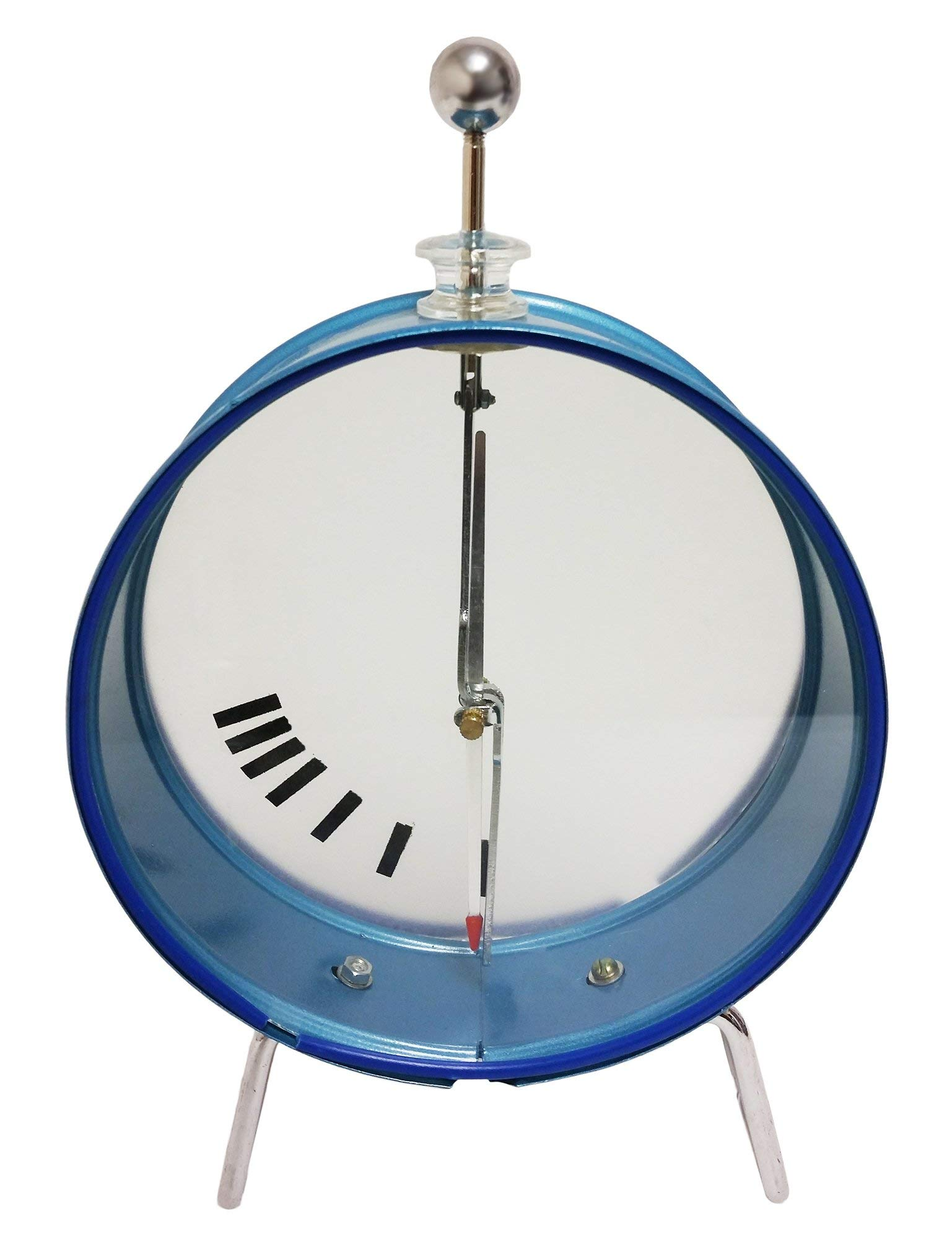 GSC International 4-50190-2 Electroscope with Round Case, Free-Spinning Pointer, and Indicator Gauge (Case of 2)