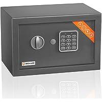 Brihard Elektronische Thuiskluis - 20x31x20cm Compacte Veiligheidsbox met Digitaal Keypad Slot LED - Code Kluis…