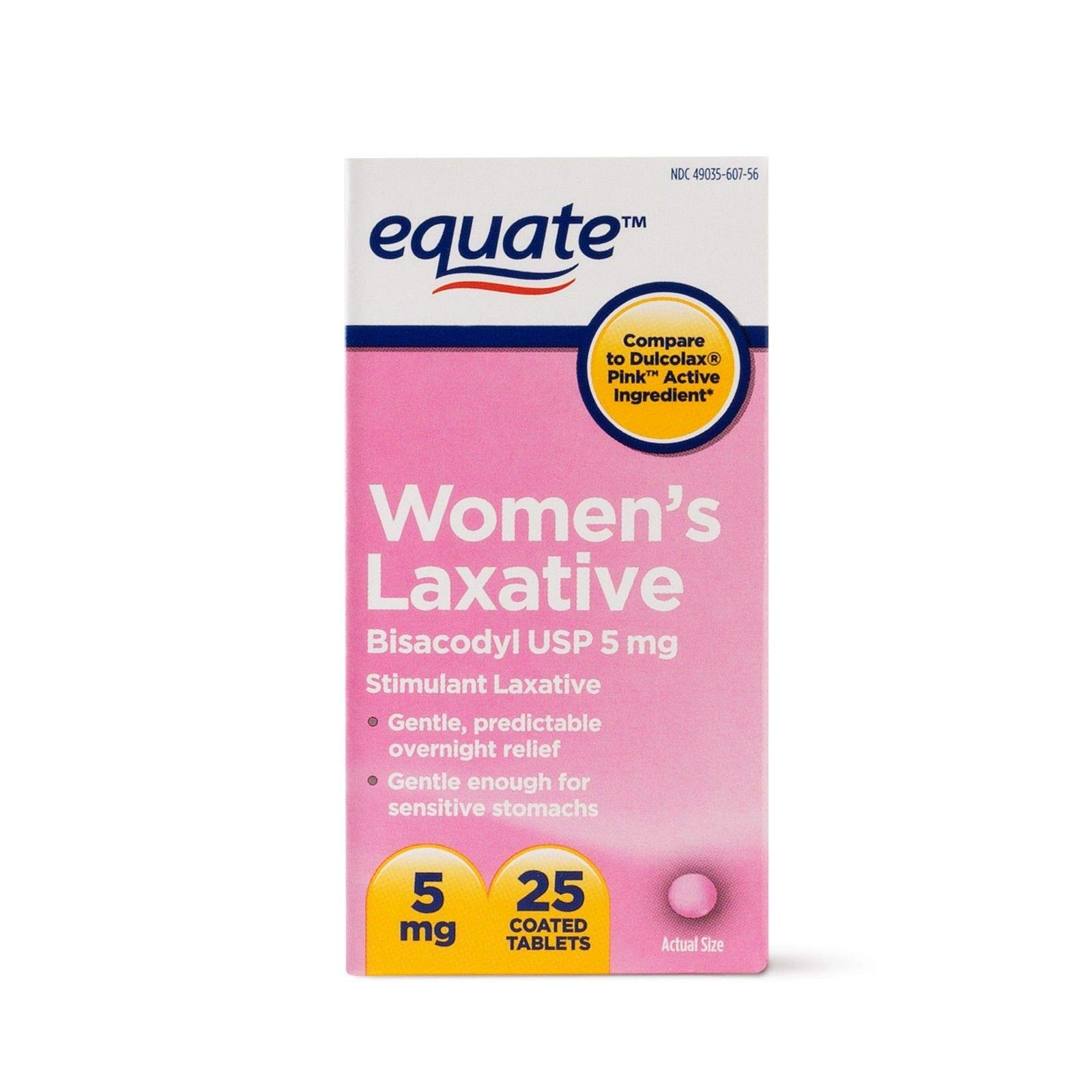 Equate Women's Laxative Bisacodyl USP 5mg