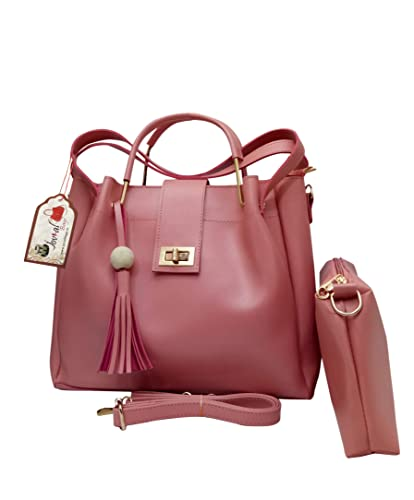 5dde6852b291d Jovial Premium Quality Fashionable Women/Ladies Combo Handbag: Amazon.in:  Shoes & Handbags