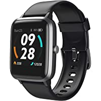 LETSCOM Smart Watch, GPS Running Watch Fitness Trackers with Heart Rate Monitor Step Counter Sleep Monitor, IP68…