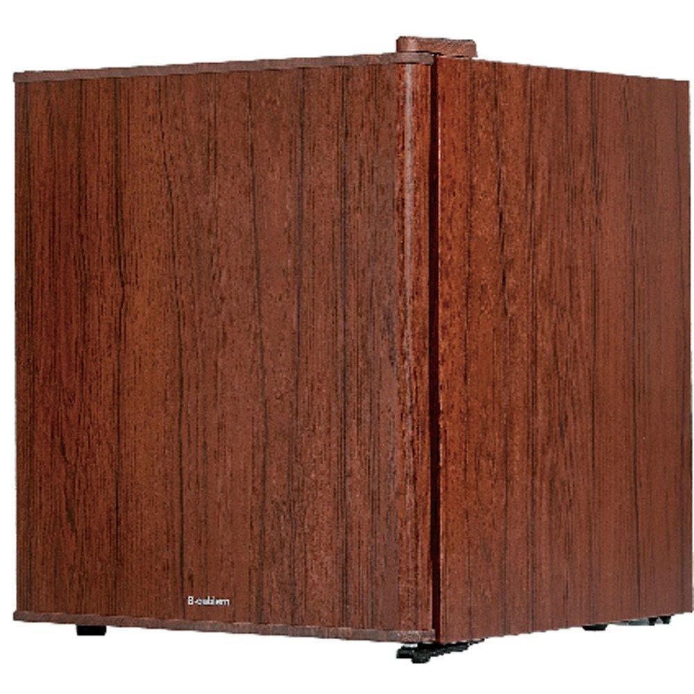 S-cubism 冷蔵庫 49L 1ドア 直令式 インテリア冷蔵庫 ダークウッドWRH-1049DW B079ZN7TYL