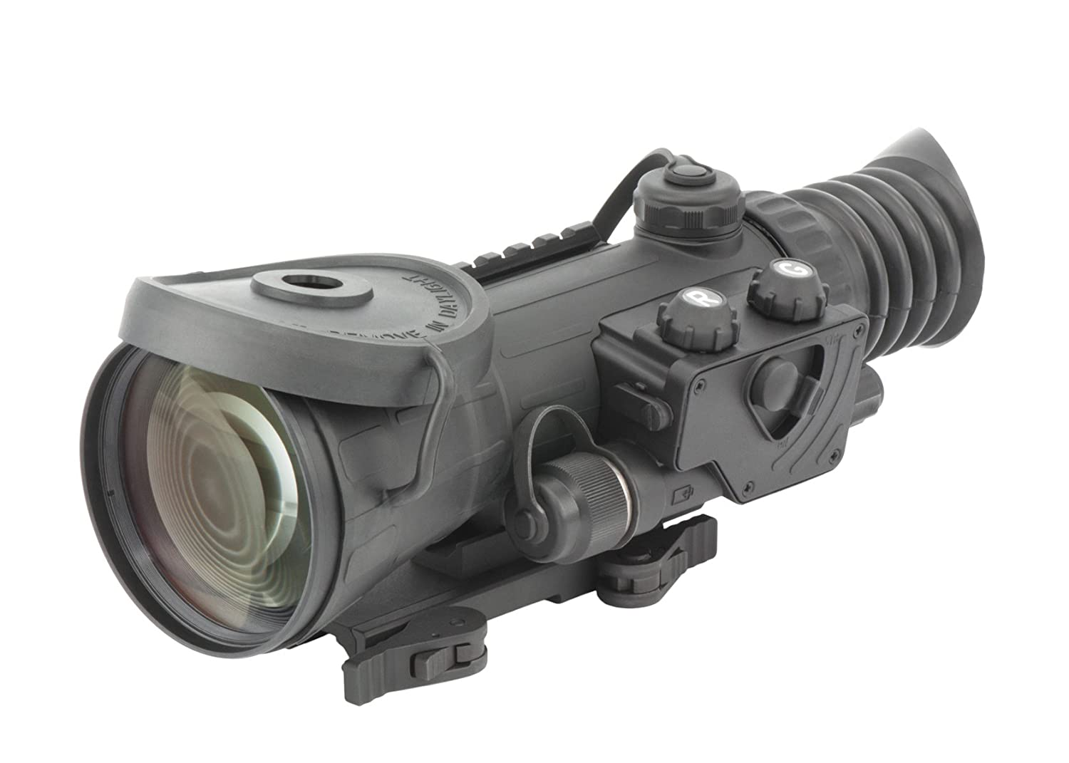 Armasight Vulcan 4.5X 3P MG - Compact Professional 4.5x Night Vision Rifle Scope Gen 3; High-Performance Thin-Filmed Auto-Gated IIT with Manual Gain and IR850-XLR Extra Long-Range Infrared Illuminator