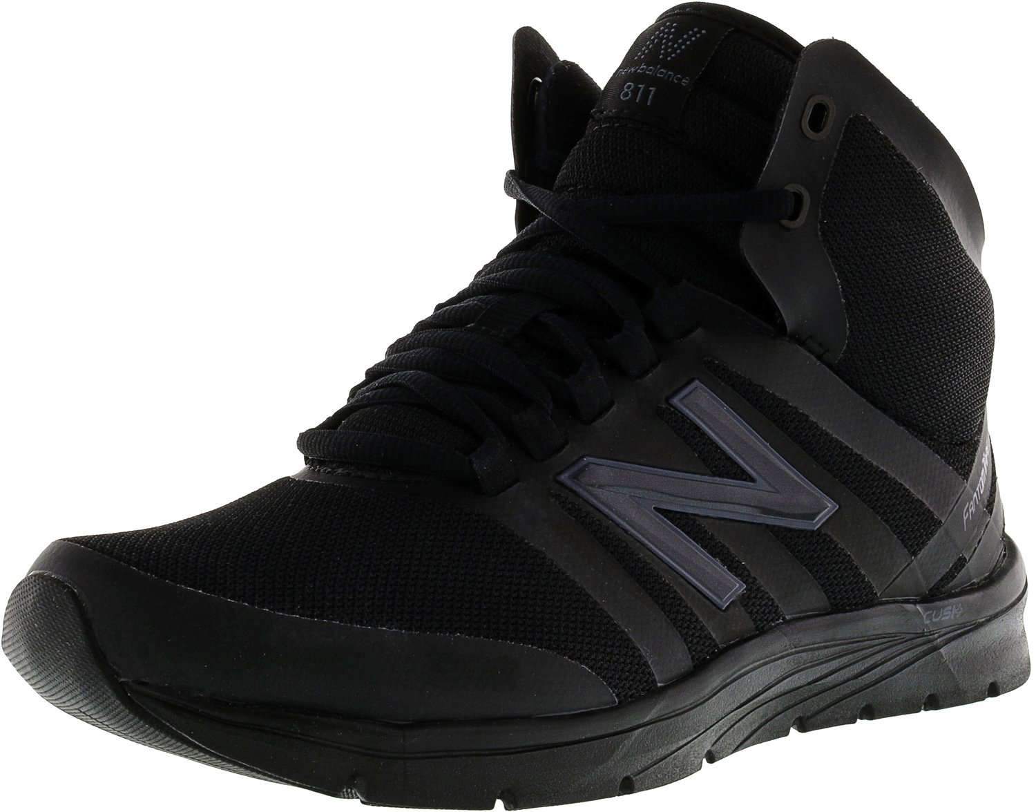 New Balance Women's WX811V2 High Top Cross Trainer, Black/Outer Space Graphic, 10.5 B US