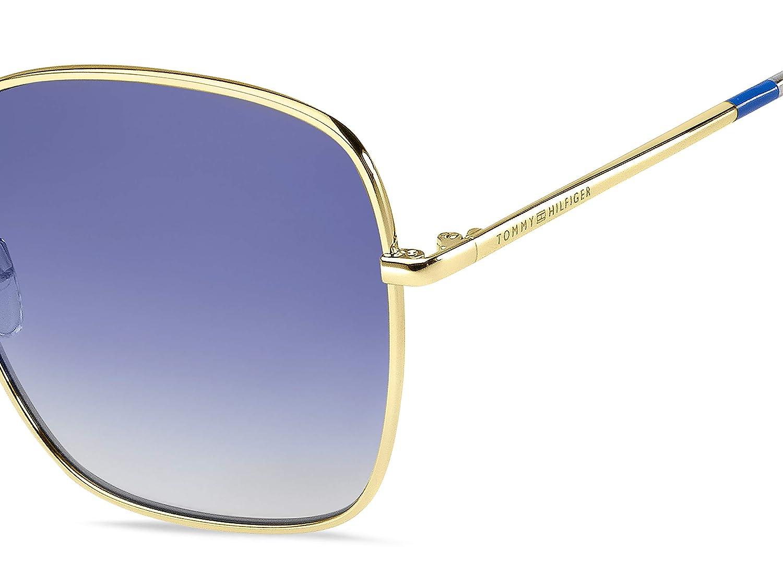 Amazon.com: Gafas de sol Tommy Hilfiger Th 1648 /S 0LKS Gold ...