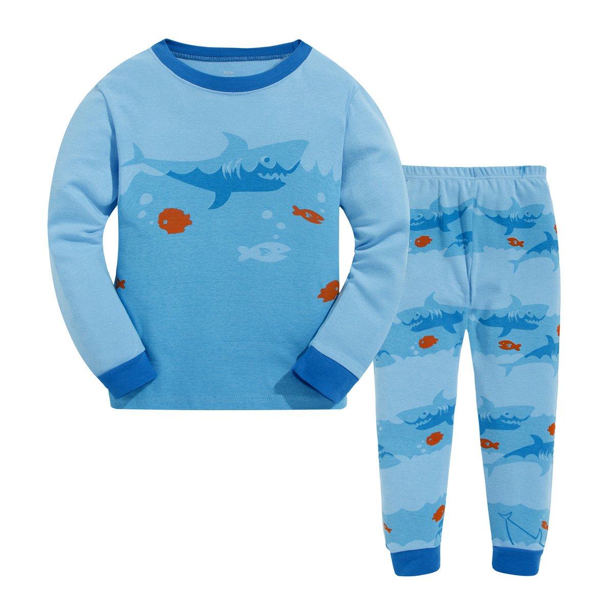 憧れ masonanic幼児/キッズ男の子キュートBig Sharkパジャマセット100 %コットン2 6t – 8歳 8歳 B06XPDBM3L 6t B06XPDBM3L, ヘキナンシ:2686e22f --- a0267596.xsph.ru