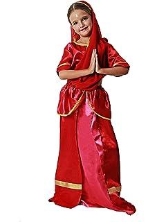 César - Disfraz de sevillana para niña, talla 5-7 años (F233 ...