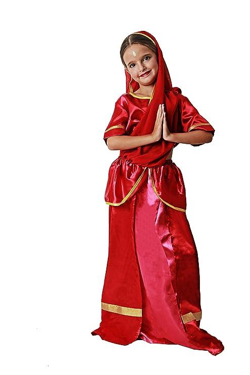 Costumizate! Disfraz de Hindú para niña Talla 3-4 Especial ...