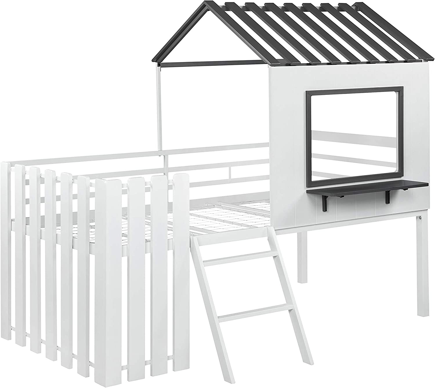 Image result for Coaster Twin Loft Bed 409464T