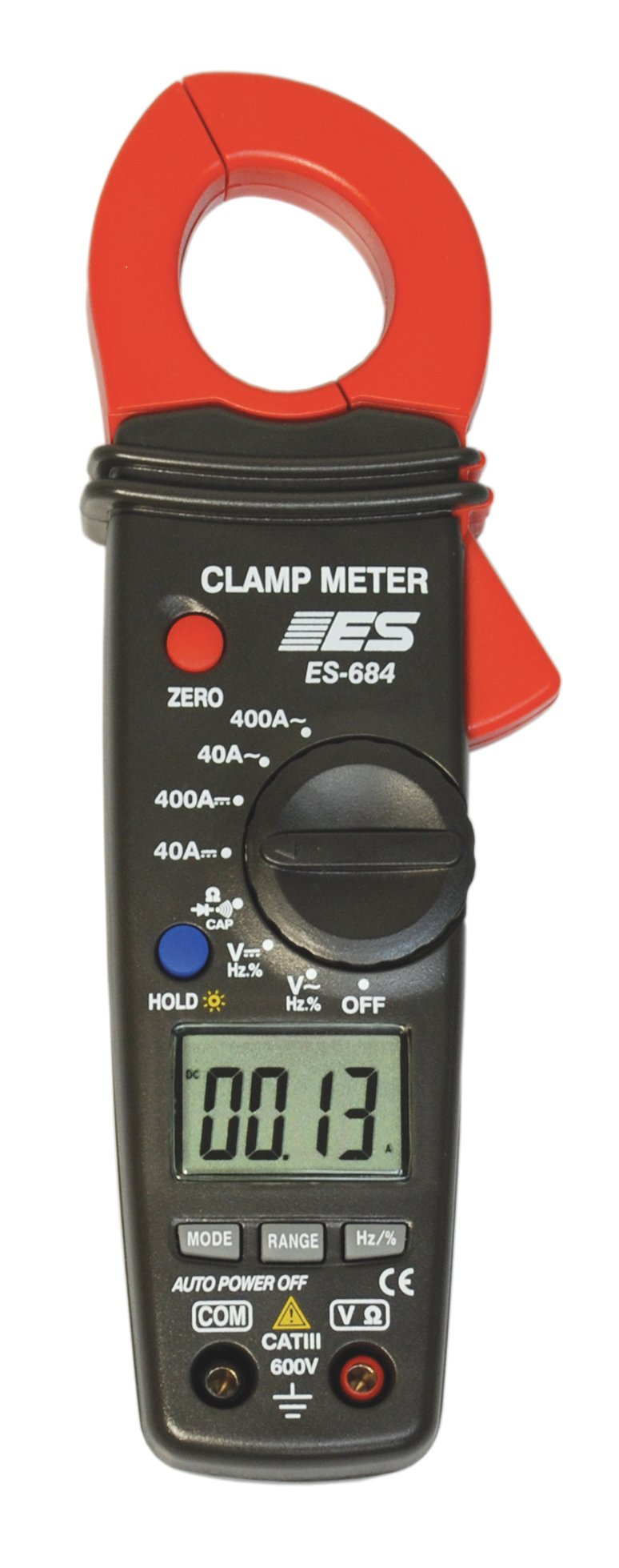 Electronic Specialties 684 400 Amp DC/AC Auto-Ranging Clamp Meter