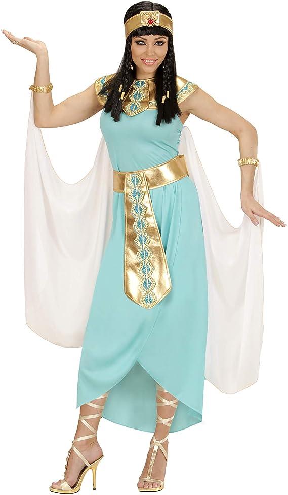 WIDMANN Disfraz de Reina egipcia Azul para Mujer - M: Amazon.es ...