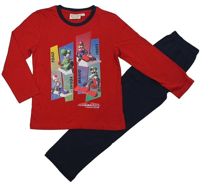 Super Mario Bros Chicos Pijama – Azul marino Azul azul marino 10 años
