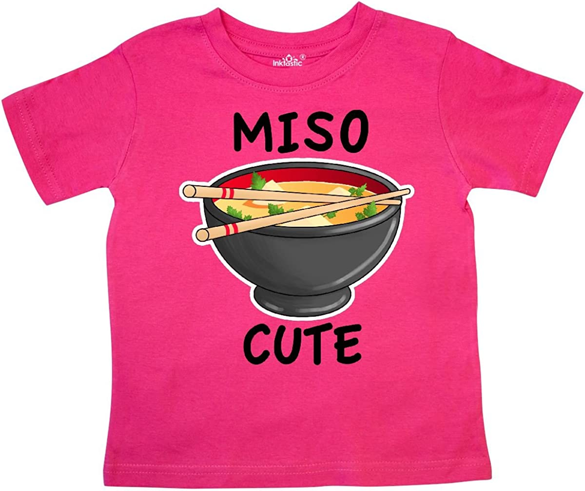 inktastic Miso Cute with Miso Soup Toddler T-Shirt 712Bl2x-Oc9L
