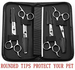 Augmyer Pet Grooming Scissors Kit