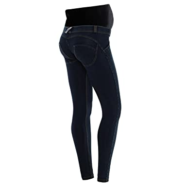 dd5557e525908 Freddy WR.up Maternity Blue Jeans Jeggings at Amazon Women's Clothing store: