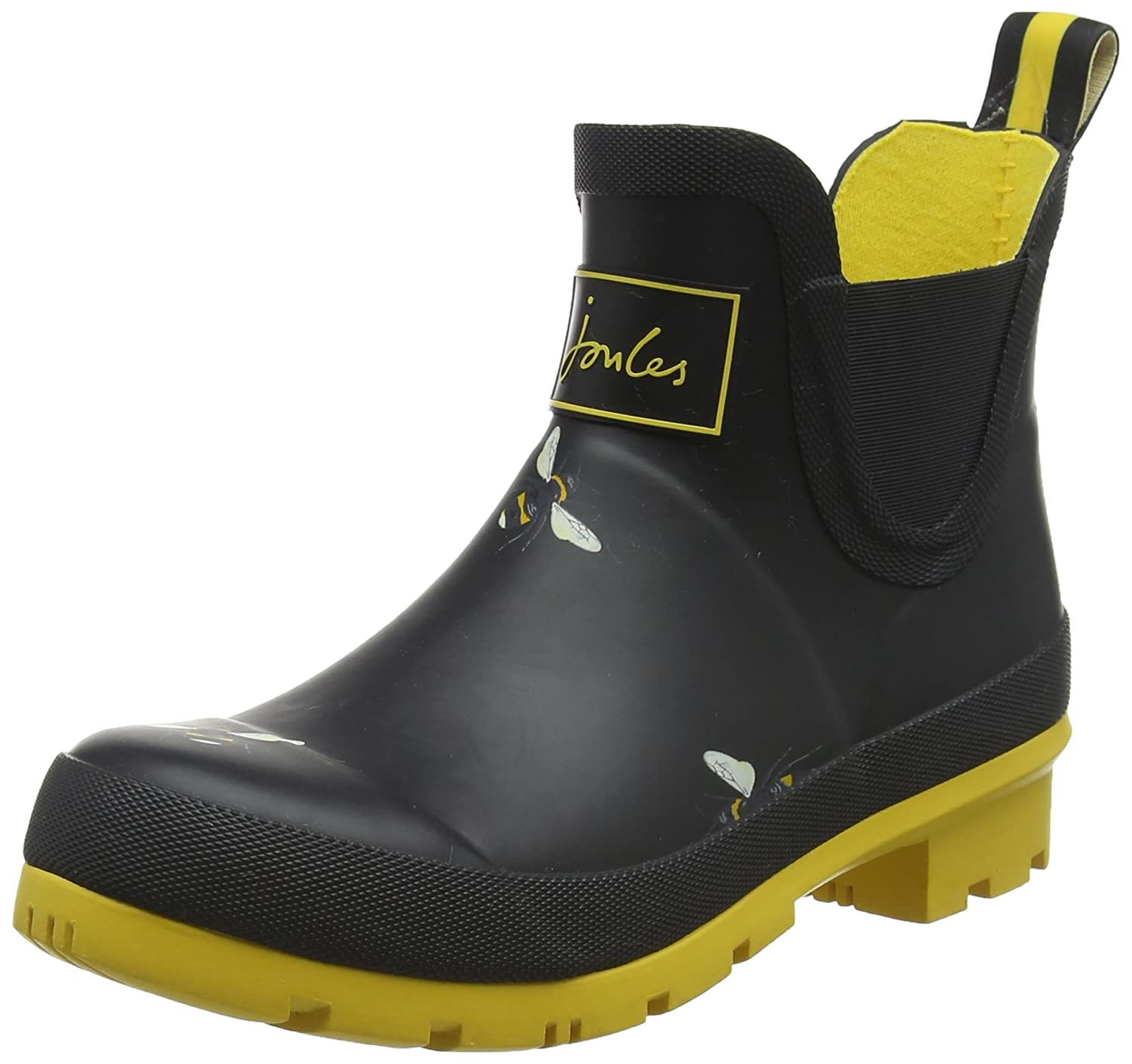 Joules Femme Wellibob, Botanical Bottes Classiques Cheville Femme Noir Joules (Black Botanical Bees) a8abced - conorscully.space