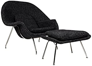 Kardiel Womb Chair With Ottoman