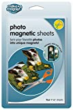 MagnaCard Magnetic Craft Sheets, 4 x 6 Inches, Pack
