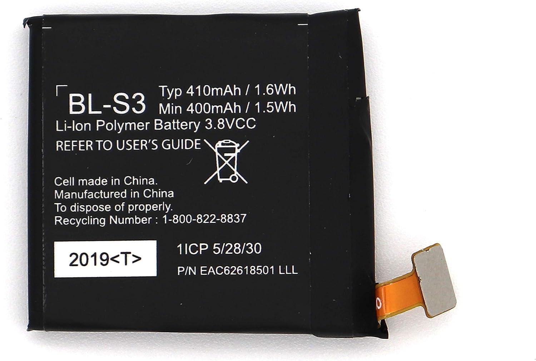 Bateria para BL-S3 LG G Watch R W110 W150 Urbane  410mAh