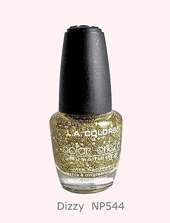 Amazon.com: L.A. Colors Color Craze Nail Polish .44 oz. CNP544 Dizzy ...