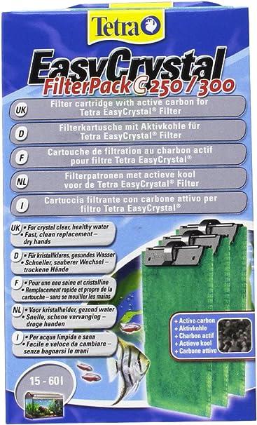 Filtro de cristal Respiradero fácil paquete C250//300 carbón activado de 3.1 Azul