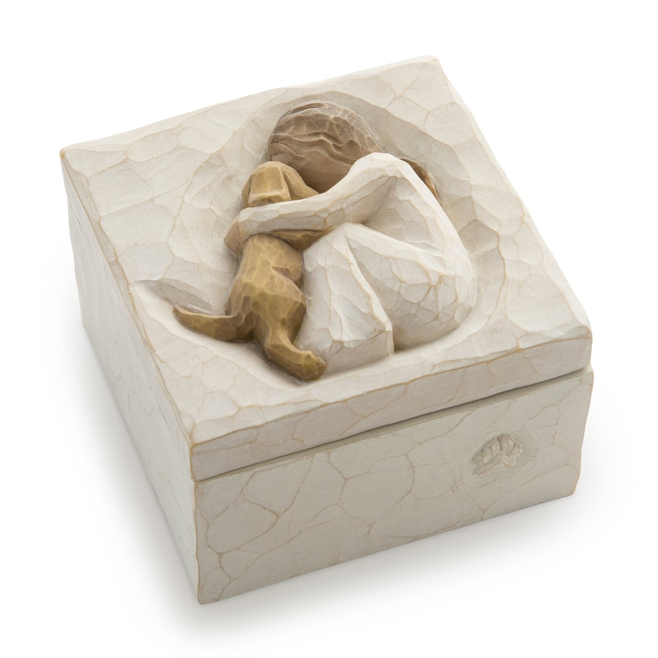 Willow Tree hand-painted sculpted Keepsake Box, True (26603) by Willow Tree