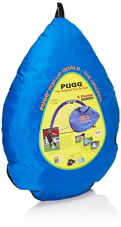 Two Goals /& Bag The Original Pickup Game Goal Portable Training Futsal Football Net PUGG 4 Foot Pop Up Soccer Goal MS1