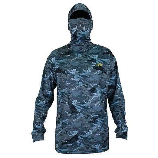 50e64445 AFTCO Men's Fish Ninja 2 Hoodie at Amazon Men's Clothing store: