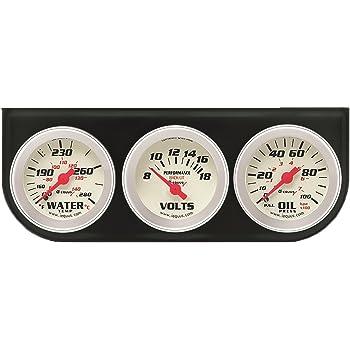 Equus 8200 2″ Volt Triple Gauge Kit