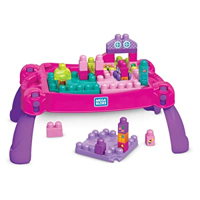 Mega Bloks Build 'N Learn Table: Toys & Games