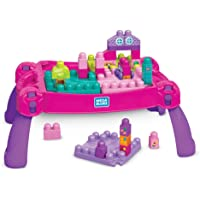 Mega Bloks Build N' Learn Table - Pink