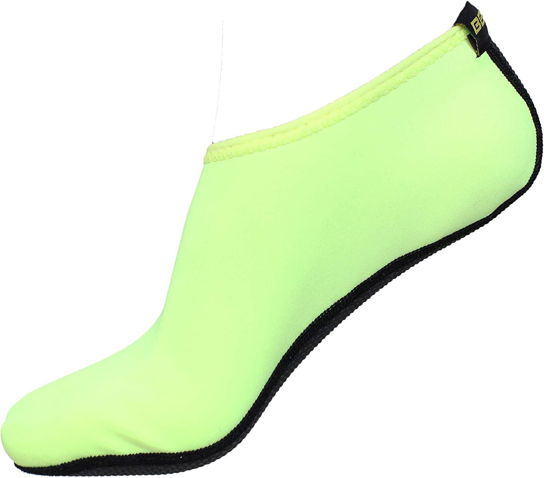 SAGUARO Unisex Water Shoes Aqua Skin Socks Yoga Exercise Beach Swim lace up #034