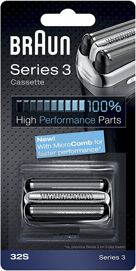 Braun - Combipack 32S - Láminas de recambio + portacuchillas para ...