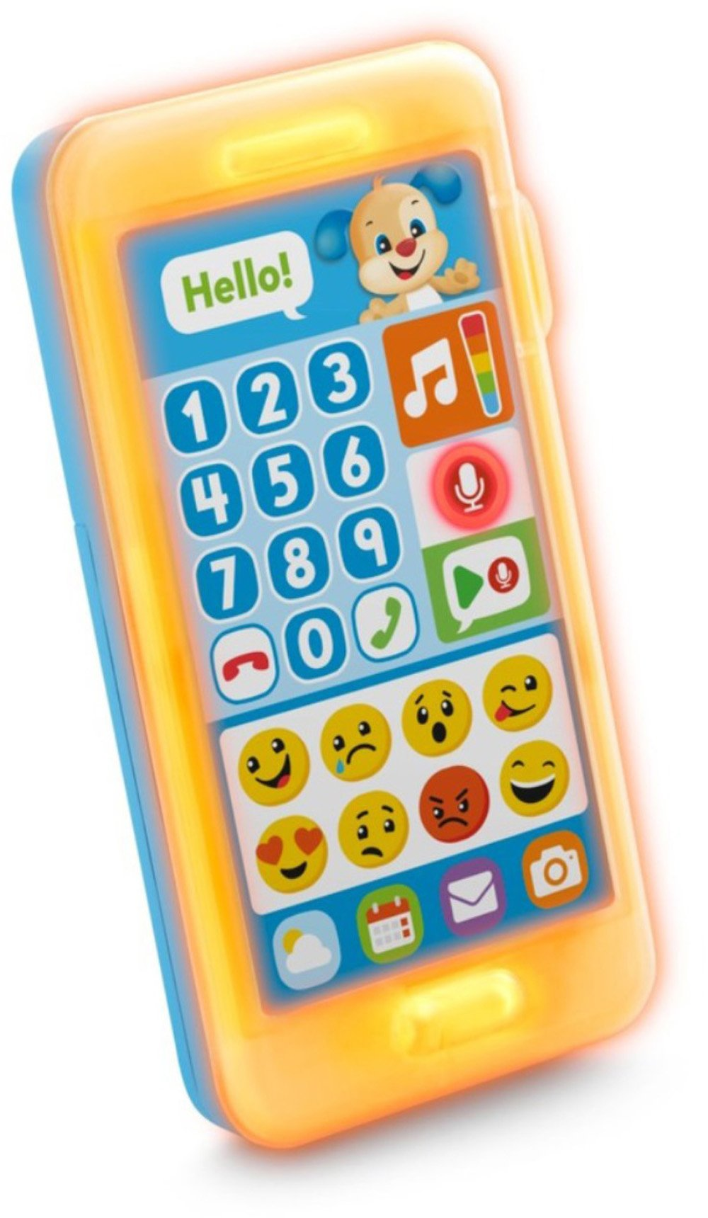 Fisher-Price Laugh & Learn Leave A Message Smart Phone, Puppy by Fisher-Price (Image #3)