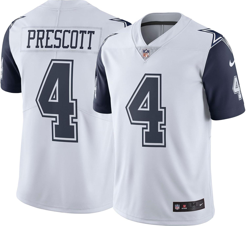 Amazon.com   Dallas Cowboys Dak Prescott  4 Nike XC1 Color Rush Jersey    Sports   Outdoors fca3ec403